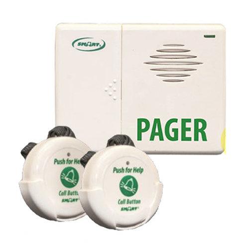 Botones de llamada inalámbricos a pagers (busca personas) Sistema de localizació