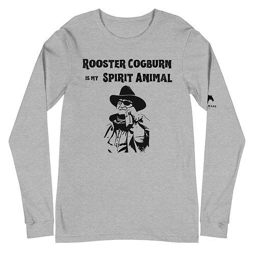 Rooster Cogburn Spirit Animal Unisex Long Sleeve Tee
