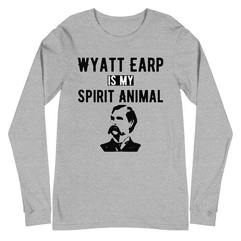 Wyatt Earp Spirit Animal Unisex Long Sleeve Tee