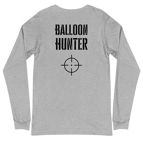Balloon Hunter Unisex Long Sleeve Tee