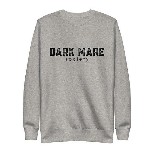 Dark Mare Grunge Unisex Fleece Pullover
