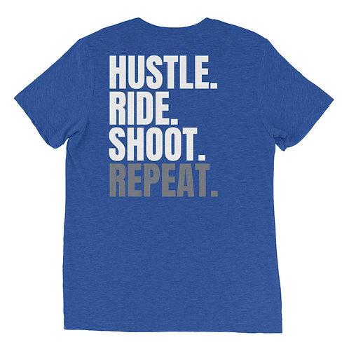 Hustle Ride Shoot Repeat T