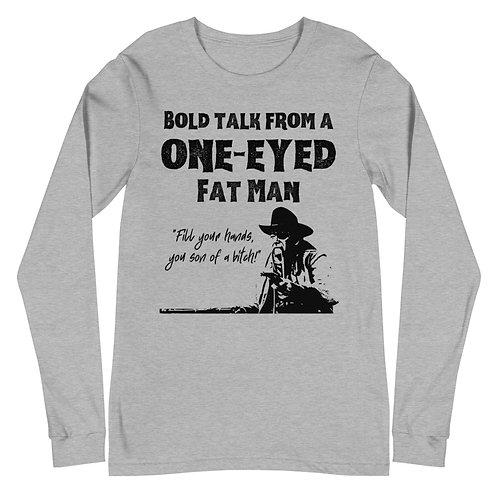Bold Talk Unisex Long Sleeve Tee