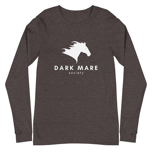 Dark Mare Logo Unisex Long Sleeve Tee