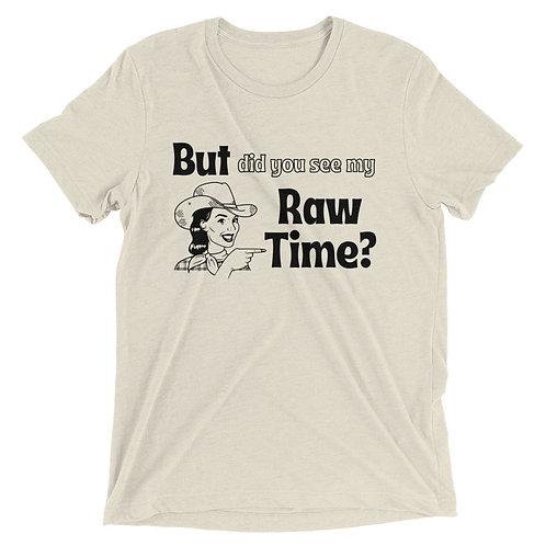 Raw Time Unisex Tee