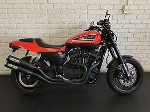 Incredible motorcycle, unique dirt track influence. Original mileage. Immaculate condition and it comes with Vance & Hines exhausts.