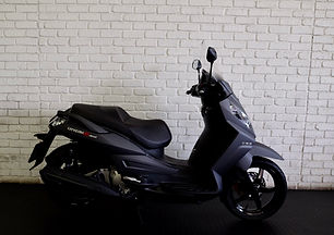 In our modern world there is so much congestion and traffic that there is nothing better than riding a scooter in the city.   This Sym Citycom 300 is the perfect bike to ride in and out of the city. It has more than enough power for a scooter. It has some minor scratches on the left hand side from a slow tip-over.   It has only 1280 kilometres on the clock. It is a 2016 model. The selling price is R45000.