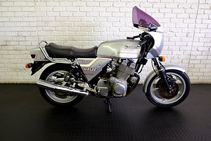 We have an unbelievable motorcycle that we are selling.   This Laverda Mirage 1200 has been owned by the same person since it was purchased in 1983. (The last picture is the original registration document)   It is a fantastic classic motorcycle in great condition. It has a few blemishes but mechanical it is in great condition. It has a 1200cc triple, giving it an unique engine note.   If you are looking for a classic Italian motorcycle this is the one to get. It is rare and has been well looked after. It is a 1983 model with on 24830 kilometres. It is selling for R120,000.