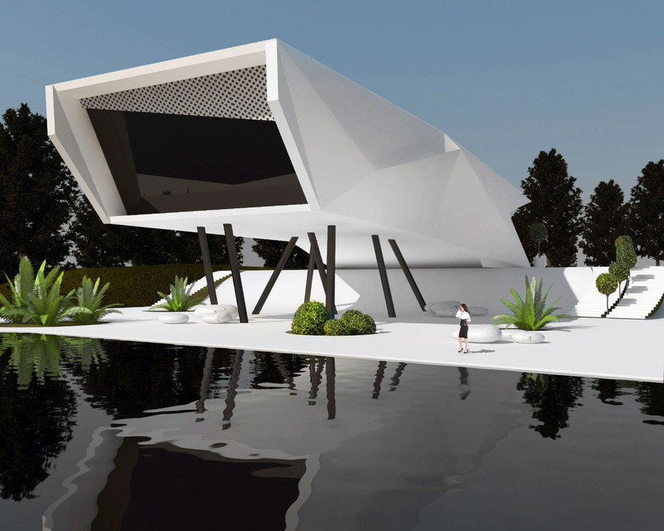 Adamant - futuristic house concept - FOR SALE