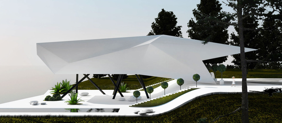 Adamant - futuristic house concept - FOR SALE