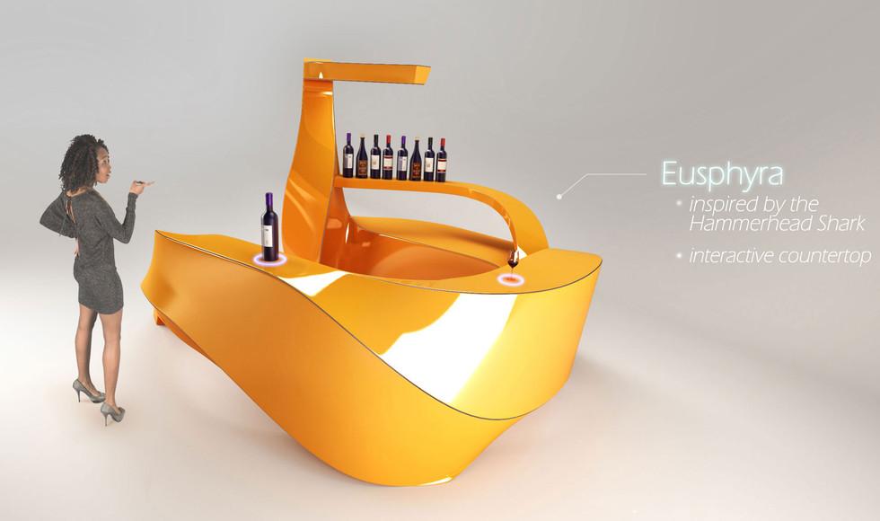 Eusphyra - mobile bar concept - FOR SALE