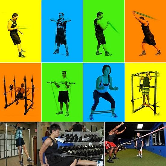 Widerstandsbänder/Restistance Band/ Workout Band in verschieden Stärken