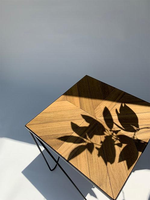 Studio Parquet Side Table