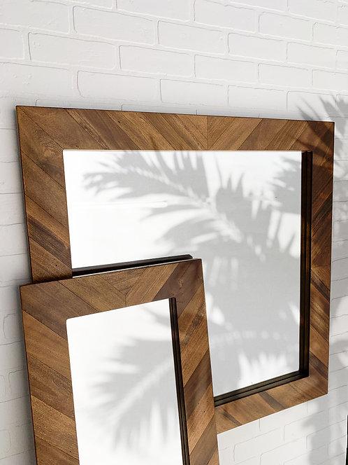 Studio Parquet Mirror - Square