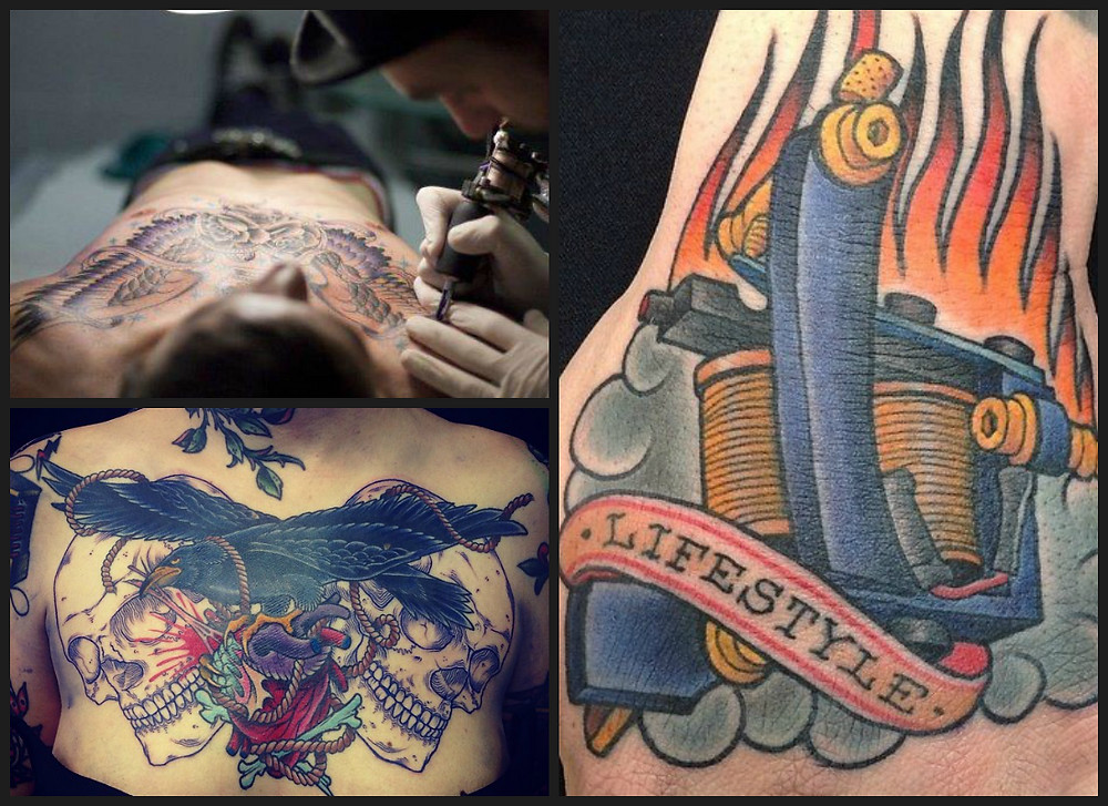 sento thee pirates tattoo guesting at erntezeit tattoo