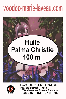 Huile Palma Christie