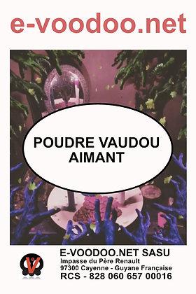 Poudre Vaudou Aimant
