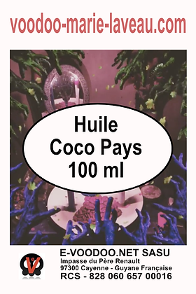 Huile Coco Pays