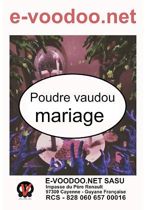 Poudre Vaudou Mariage
