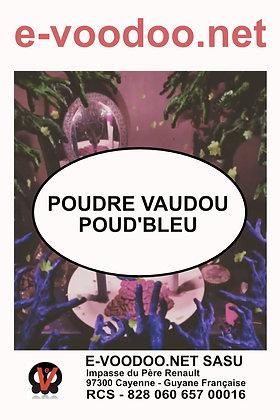 Poudre Vaudou Poud Bleu