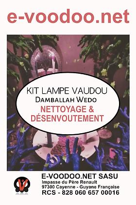 Kit Lampe de Nettoyage et Désenvoutement Damballah Wedo