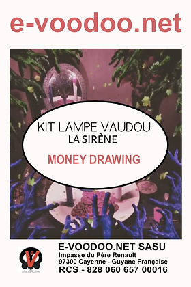 Kit Lampe Money Drawing La Sirène