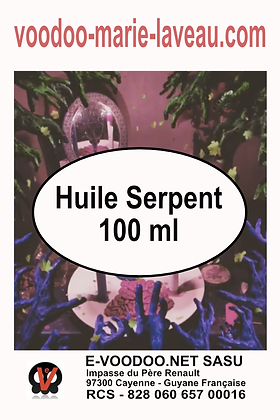 Huile Serpent