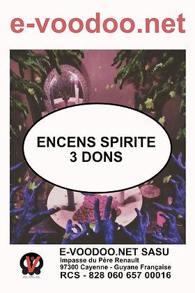 Encens Spirite 3 Dons