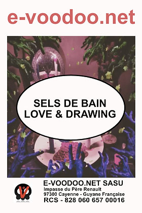 Sels de Bain Love and Drawing