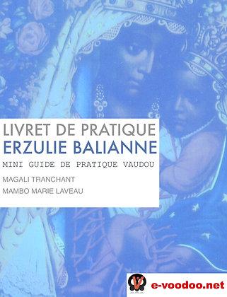 Livret de Pratique Vaudou Erzulie Balianne