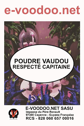 Poudre Vaudou Respecté Capitaine