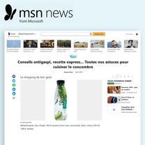 Article web MSN news