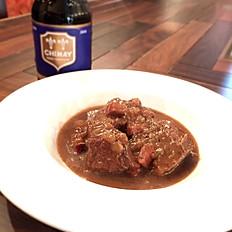 牛肉のベルギービール煮込み
