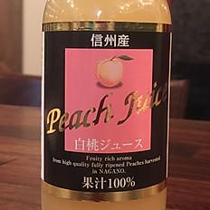白桃(100%果汁)