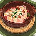 ラタトゥイユのオーブンチーズ焼き