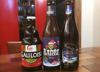クリスマスビールのご提供始めました!