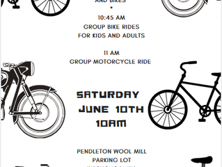Blessing of the Bikes: June 10, 2017         2 Pendleton Way, Washougal, 98671