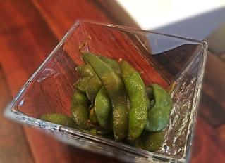 「燻製醤油漬け枝豆」再登場です!