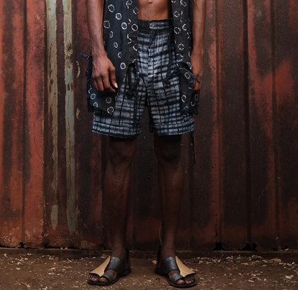 Tie & Dye Check Shorts -SS20
