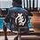 Thumbnail: Gye Nyame hand painted denim jacket