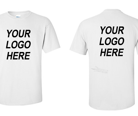 Custom White Shirt Printing