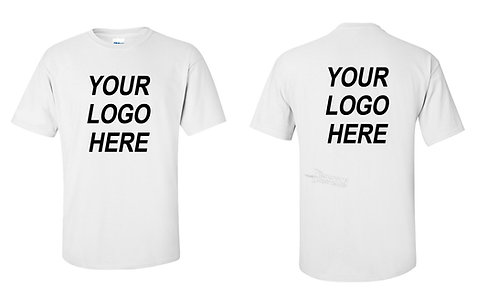 Custom White Shirt Printing