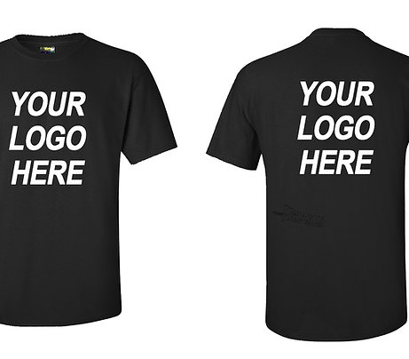 Custom Black Shirt Printing