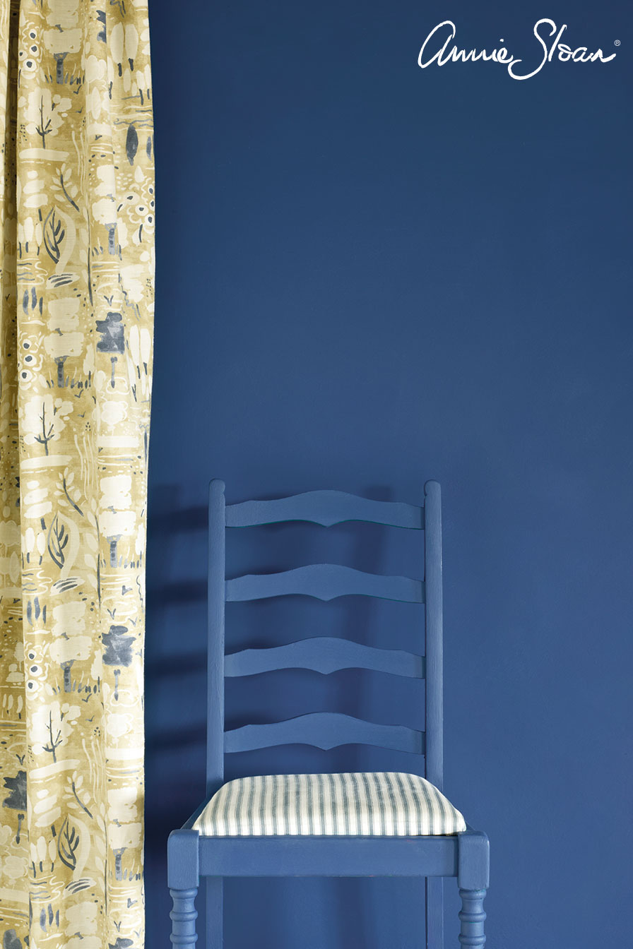 Napoleonic-Blue-Wall-Paint-by-Annie-Sloa