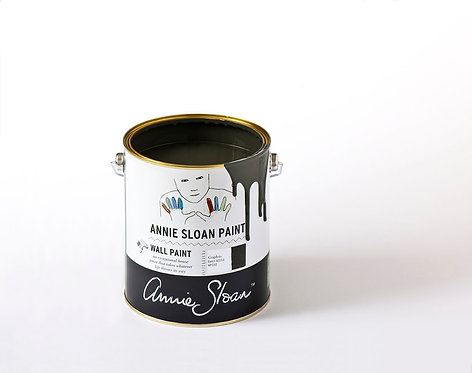"Annie Sloan ""Graphite"" Wall Paint"