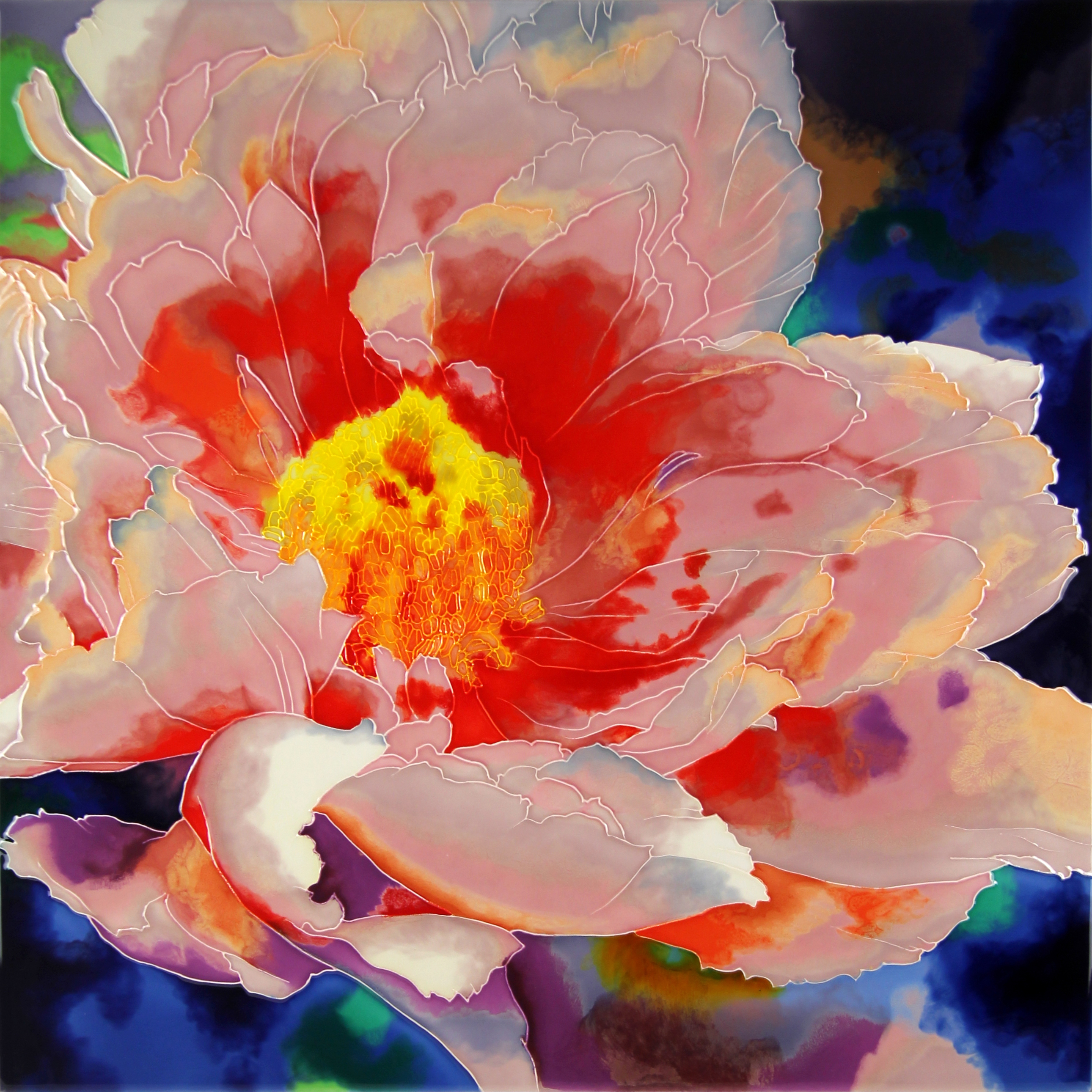 Blooming Peony - 4
