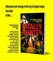 fatally haunted poster-yellow-background