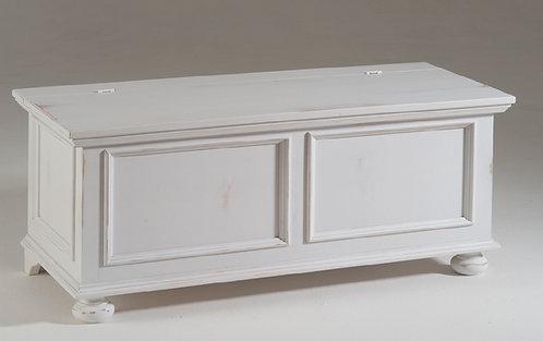 Cassapanca CARDY bianco shabby da cm.120