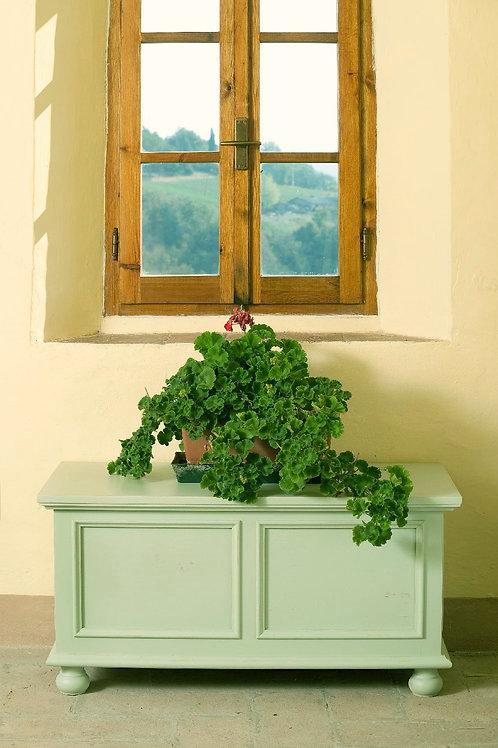 Cassapanca CARDY verde shabby