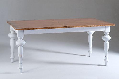 Tavolo ALDO con top noce anticato allungabile